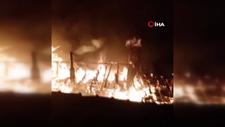 Kastamonu'da jelle soba yakmak isteyen kişinin evi yandı
