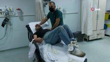 Samsun'da evine aldığı görme engelli arkadaşı tarafından hastanelik edildi