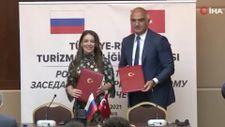 Rusya ve Türkiye arasında Ortak Turizm Eylem Planı için imzalar atıldı