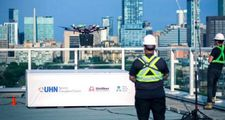 Dünyada bir ilk: Kanada'da hastaya nakledilecek akciğer drone ile taşındı