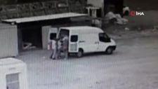 İstanbul'da 1 buçuk ton fındık hırsızlığı kamerada
