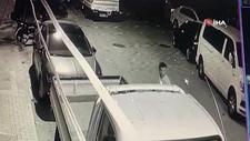 Kağıthane'de bir kişi, komşusundaki hırsızlığı görüntüledi