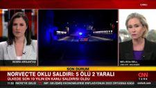 CNN INT. muhabiri: Norveç'teki saldırgan yakın zamanda Müslüman olmuş