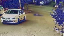 Denizli'de eski eşinin kocasına otomobil ile çarpıp metrelerce sürükledi