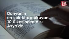Dünyanın en çok kitap okuyan 10 ülkesinden 6'sı Asya'da