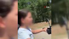 İstanbul'da küçük yaştaki kızına motosiklet kullandıran baba