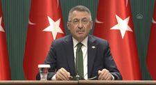 Fuat Oktay: Büyük ve güçlü Türkiye hedefimize kararlılıkla yürüyoruz