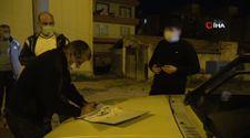 Kırıkkale'de 'şok denetim' uygulamasına takılan genç çocuk temaslı çıktı