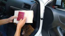 Mersin'de sahte vize düzenleyen baba ve kızı gözaltına alındı
