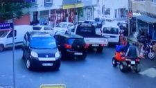 Bursa'da frenleri tutmayan araç kaza yaptı