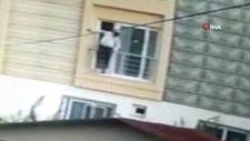 Mersin'de hırsızlık için girdi, ev sahibine denk gelince aşağı atlayarak, kaçtı