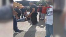 Antalya'da sokak ortasında kayın biraderini bıçakladı