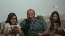 Erzincan'da ölmek üzereyken bulunan 3 yavru sincap, Taşdelen ailesine neşe kattı