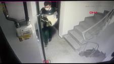 Şişli'de apartmandan ayakkabı çalan şüpheli yakalandı
