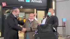 Afganistan'daki son Yahudi Simantov, Türkiye'nin vize vermesiyle İstanbul'a geldi