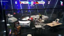 Balonu Yere Düşürmeme Yarışması'nın heyecan dolu Dünya Kupası karşılaşması
