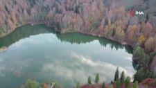 Borçka'nın Karagöl'ünden sonbahar manzaraları