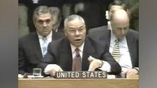 Colin Powell'ın Irak işgalinden önce BM'de yaptığı konuşma