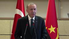 Cumhurbaşkanı Erdoğan Türkiye-Angola İş Forumu'nda