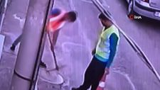 İzmir'de işçi yeleği giyip fiber kablo çaldılar