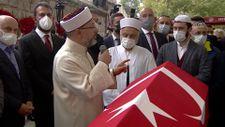 Ali Erbaş, Özdemir Bayraktar'ın cenaze namazında konuştu