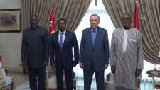 Cumhurbaşkanı Erdoğan, Burkina Faso Devlet Başkanı Kabore ile bir araya geldi