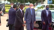 Cumhurbaşkanı Erdoğan, Togo'ya ulaştı