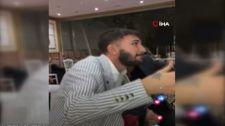 Gaziantep'te müzisyenin sazını kırıp yüzüne tekme attı