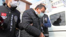 Kocaeli'de polisi sürükleyerek yaralayan eski CHP'li başkan yardımcısı adliyeye sevk edildi