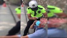 Sakarya'da gözünden rahatsızlanan şoföre polis yardımı