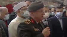 Yaşar Güler, Özdemir Bayraktar'ın cenaze namazında konuştu