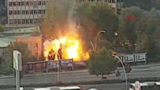Ankara'da MTA Kampüsü yakınında patlama