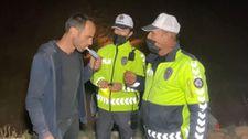 Aksaray'da kendi testini yapan alkollü sürücü, Levent Kırca skeçlerini aratmadı
