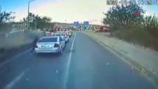 Bingöl'de 6 kişinin yaralandığı kaza araç kamerasında