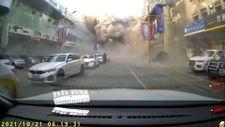 Çin'de doğalgaz patlaması