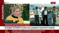 Cumhurbaşkanı Erdoğan, Özdemir Bayraktar'ı anlatırken ağladı