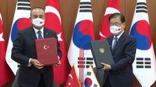 Bakan Çavuşoğlu, Güney Koreli mevkidaşı ile görüştü