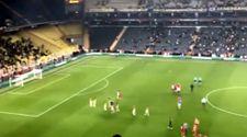 Fenerbahçe tribünlerinden futbolculara önce alkış sonra protesto