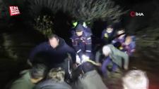 Gümüşhane'de araç uçuruma yuvarlandı: 2 ölü, 1 yaralı