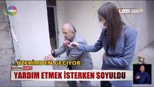 İstanbul'da bir kadına yardım etmek isterken soyuldu