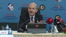 Süleyman Soylu: Türkiye'deki terörist sayısı 180'in altına düştü