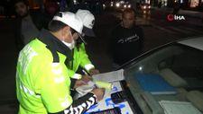Aksaray'da alkollü araç kullanırken yakalanan sürücü: Kanuna karşı boynumuz kıldan ince