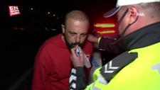 Aksaray'da kaza yapan sürücü, polislere çok mu içtim diye sordu