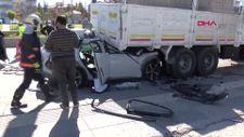 Ankara'da nöbetten çıkan doktor, kazadan sağ kurtarılamadı