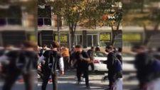 Beylikdüzü'de lise öğrencileri arasında tekme tokat kavga
