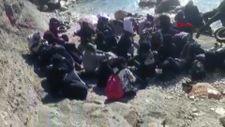 Muğla'da 8 kişilik bota 27 kişi binmişler