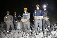 Kırıkkale'de yeraltından çıkarılan tuzla hedef '2023'de 1 milyon ton tuz'