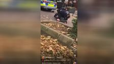 Alman polisinden 25 yaşındaki gence orantısız güç