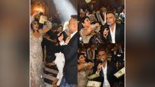 Berdan Mardini'nin sahne aldığı düğünde dolar yağmuru