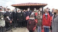 Erzurum'da PKK'nın katlettiği 33 Yavi şehidi, katliamın 28. yılında anıldı